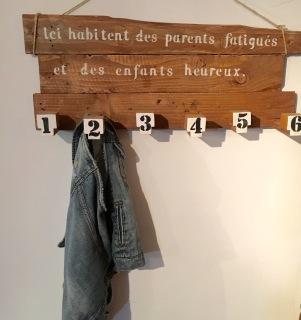 Porte manteaux familial